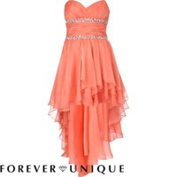 coral forever unique prom dress - branded dresses - dresses - women - River Island