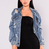 Lovelle Jacket - Denim