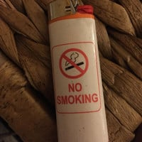 Ironic lighters- no smoking lighter