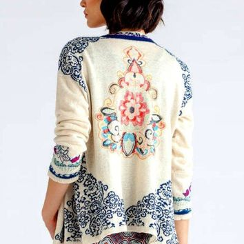 Light Cardigan Embroidered from Ivko