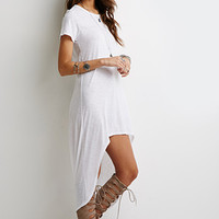 Crescent Hem T-Shirt Dress