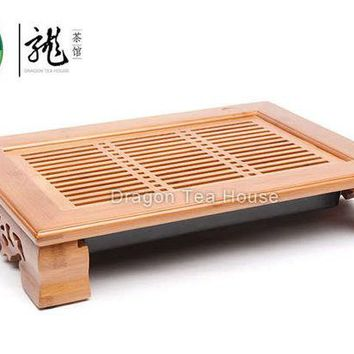 VONESC6 Tasteful * Bamboo Gongfu Tea Table Serving tray 36*26cm