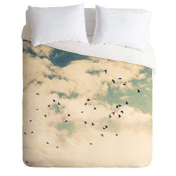 Shannon Clark Summer Flight Sight Duvet Cover