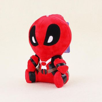 Deadpool Dead pool Taco 20cm Moive  Plush Toys Super Heros Soft Stuffed Dolls plush with pendant sucker Baby Gifts AT_70_6
