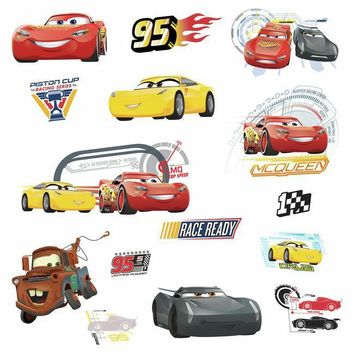 York Wallpaper RMK3353SCS Disney Pixar Cars 3 Wall Decal