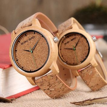 Fashion  Wristwatch Handcrafted Wood Watches for Women