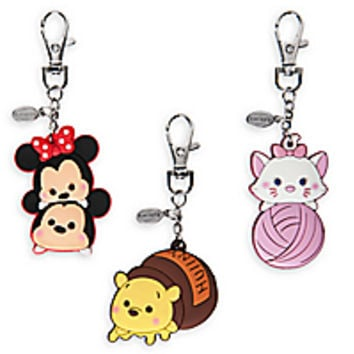 Mickey and Minnie Mouse and Friends ''Tsum Tsum'' Bag Charms