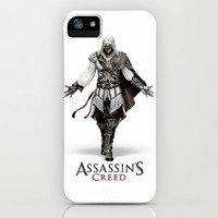 Ezio Auditore from Assassin's Creed - Color Sketch Work iPhone & iPod Case by ElvisTR