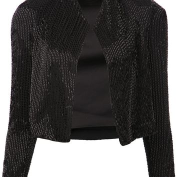 Alice+Olivia sequined jacket