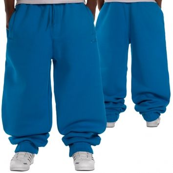 Southpole Fleece Sweat Pants Process Blue von Def-Shop.com
