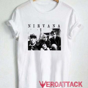 Nirvana Vintage Photos T Shirt Size XS,S,M,L,XL,2XL,3XL