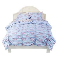 Simply Shabby Chic® Rouched Duvet Cover Set - Blue