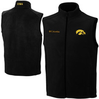 Columbia Iowa Hawkeyes Flanker Vest - Black
