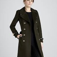 Wool/Cashmere Military Jacket - Bergdorf Goodman