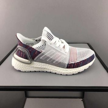 adidas Ultra Boost Multi White Toddler Kid Running Shoes Child Low Top Sneakers - Best Deal Online