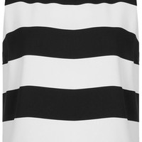 TOPSHOP Sleeveless Stripe Shell Top
