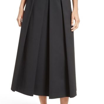 Tibi Agathe High Waist Pleated Midi Skirt | Nordstrom