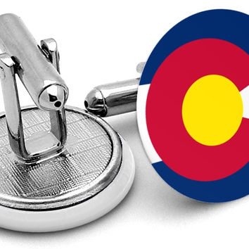 State Flag Colorado Cufflinks
