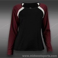 Tail Divine Wine Long Sleeve Top