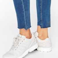 adidas Originals Pink Zx Flux Sneakers at asos.com