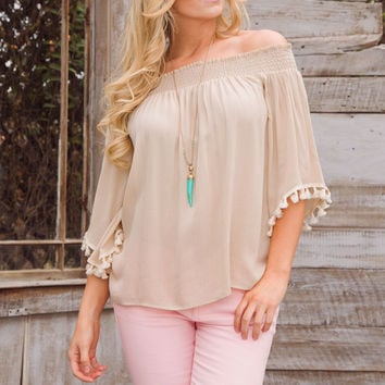 Abra Off The Shoulder Top