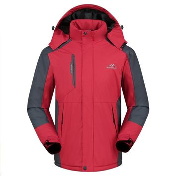 Ski Jackets Men Women Thermal Warmth Waterproof Climbing Hiking Jacket Winter Sports Snowboard Skiing Snow Outdoor Coat 5XL