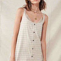 Urban Renewal Remade Flannel Shift Dress | Urban Outfitters