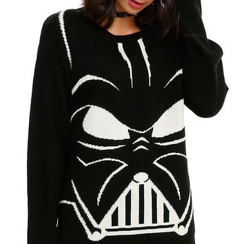 Star Wars Her Universe Darth Vader Girls Sweater