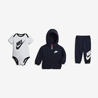 The Nike Futura Three-Piece Infant Boys' Gift Set.