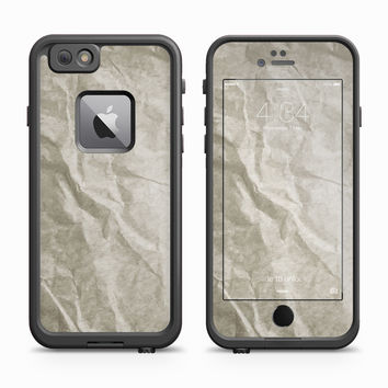 Aged Construction Paper Skin for the Apple iPhone LifeProof Fre Case
