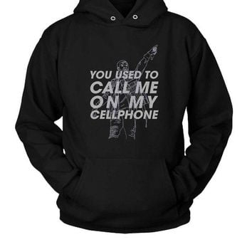 LMFGW7 Hotline Bling Tumblr Hoodie Two Sided