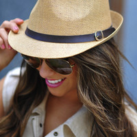 Bring On The Shade Fedora: Tan | Hope's