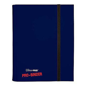 9-pocket Green PRO-Binder with embossed middle