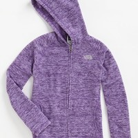 The North Face 'Glacier' Fleece Hoodie (Little Girls & Big Girls) | Nordstrom
