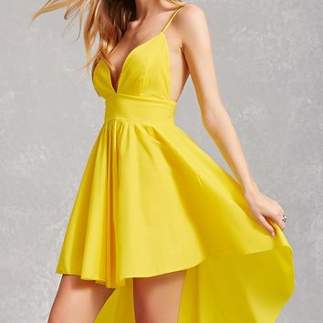 High-Low Cami Dress