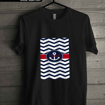 anchor chevron T-SHIRT FOR MAN SHIRT,WOMEN SHIRT **