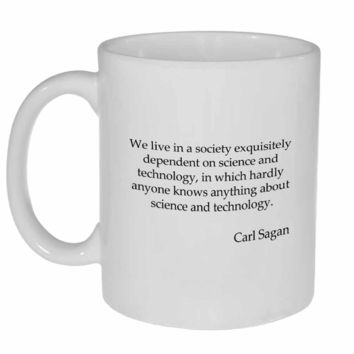 Carl Sagan Quote Coffee or Tea Mug