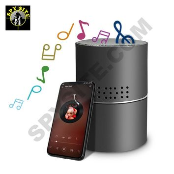Wifi Rotating Lens Two-Way Talk Bluetooth Speaker Camera & DVR - Wireless Security Camera