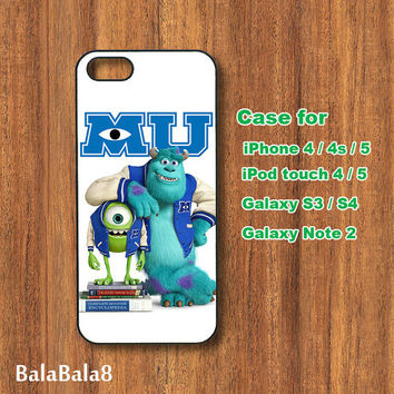 Monsters, Inc. - iPhone  4 case, iphone 5 Case, iPod 4 case,  iPod 5 case,  Samsung Galaxy S3, samsung Galaxy S4 case, samsung Galaxy note 2