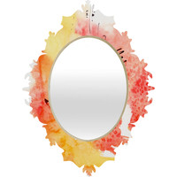 Ginette Fine Art Tangerines And Lemons Baroque Mirror