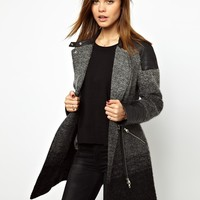 Karen Millen | Karen Millen Coat in Ombre Tweed at ASOS