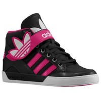 adidas Originals Hard Court Hi Strap - Girls' Grade School at Champs Sports