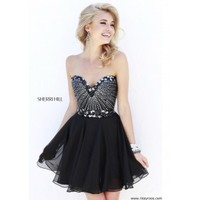 Sherri Hill 1930 Sparkly Cocktail Dress