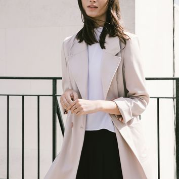 Coming Up Roses Longline Blazer by Kelly Love