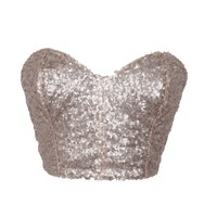 Sequin Bustier | Style Icon`s Closet