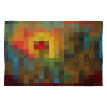 Madart Inc. Glorious Colors Woven Rug