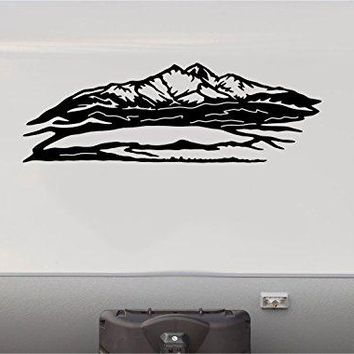Mountains Scenic Stripes Motorhome Stripe Kit- RV Stickers - Trailer Stickers- Camper Vinyl Decal- Sticker Graphic- Motorhome Decals- RV Stripe Kit-