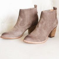 Jones Suede Slip On Bootie