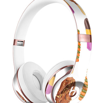 Yummy Galore Ice Cream Treats 2 Full-Body Skin Kit for the Beats by Dre Solo 3 Wireless Headphones