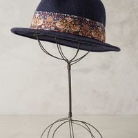Hayling Fedora by Anthropologie Blue One Size Hats
